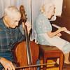 Twins Joe Von Arx and Mary Von Arx.