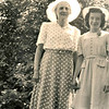 Mary Von Arx with niece Irene Von Arx on day of Irene's confirmation, June 1st., 1941.