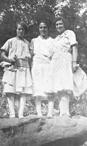 Vernie (Tschumper) Von Arx, Mary Von Arx, and Susan (Von Arx?)