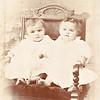 Twins Joseph and Mary Von Arx born November, 1895.