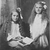 Veronica (Vernie) Tschumper (later Von Arx) and Sophie Tschumper (later Truempi).