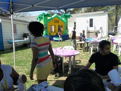 Vondai's 4th Annual Easter Egg Hunt 2013