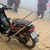 A clapped out motorbike in Sapa, Vietnam in January 2012