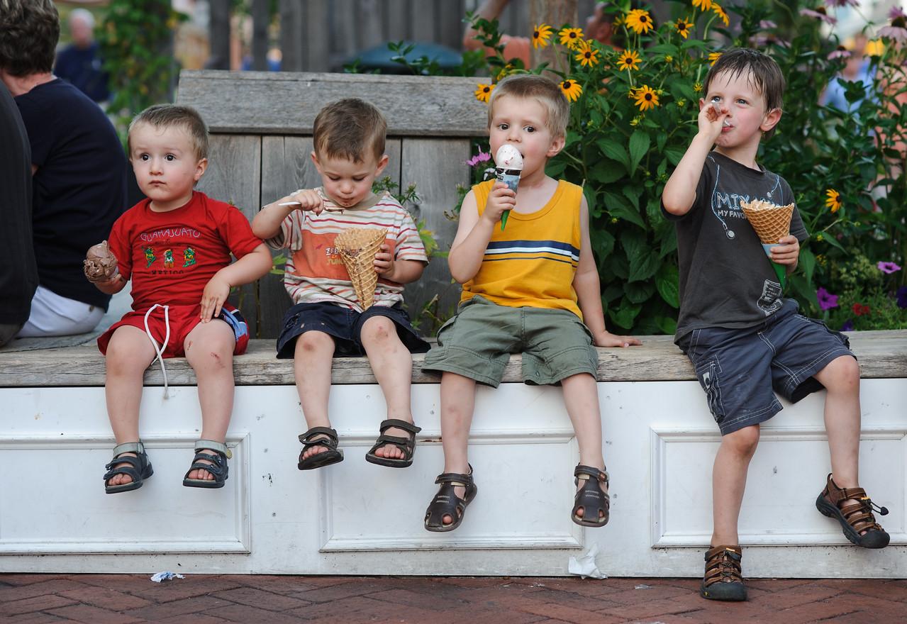 Ice Cream quartet - Cape May