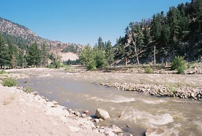 7/2/05 Shingle Mill Day Use Area, West Walker River, Toiyabe National Forest. Eastern Sierras, Mono County, CA