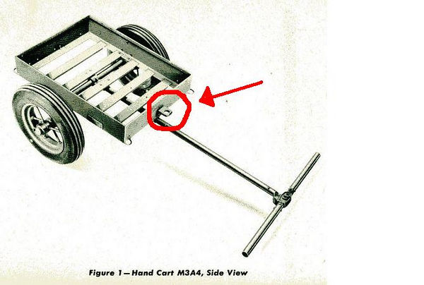 """WANTED: FRONT """"L"""" BRACKET FOR THE DRAW BAR"""