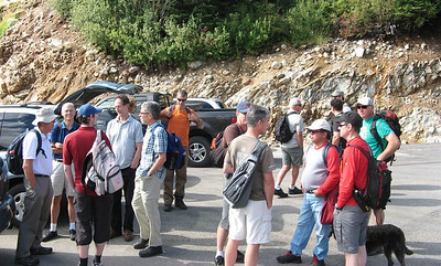 WCCF Mens Hike Sep 24/2011