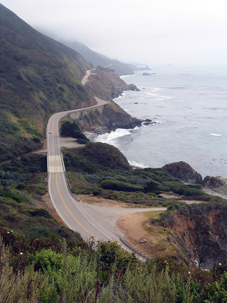 View of PCH from Naciamento-Ferguson Rd.