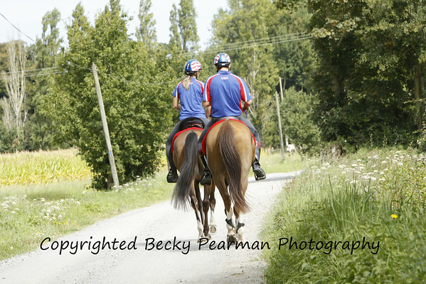WEG-Candid-pre-race work & around the barns