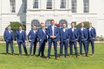 The boys at Gosfield Hall