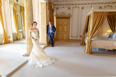 The amazing wedding suite at Gosfield Hall \ gosfield hall wedding photography