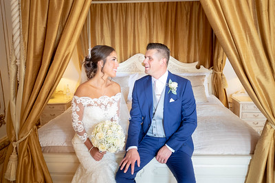 wedding four post bed | gosfield hall