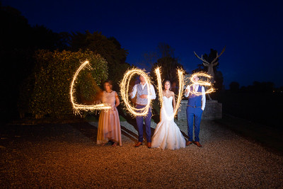 A few sparklers at Gosfield Hall