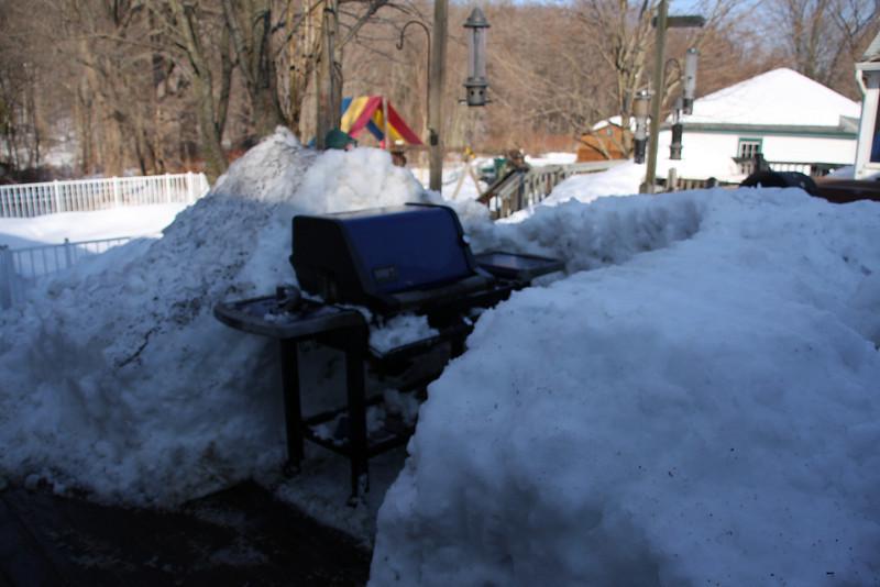 It is un-snowed!!!!