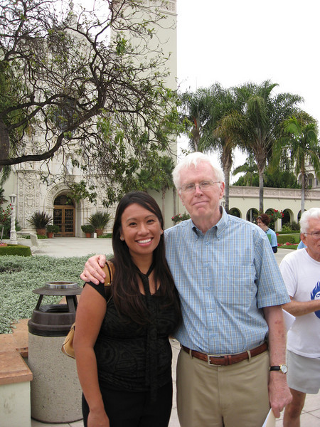 Barbra Calantas, representative of the Women's Ordination Conference, and Al O'Brien, representative of Call to Action San Diego, delivered the letter with more than 2,000 signatures to the President and Vice President of Academic Affairs at the University of San Diego on August 21, 2008.