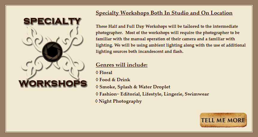 BANNER-Specialty Workshops