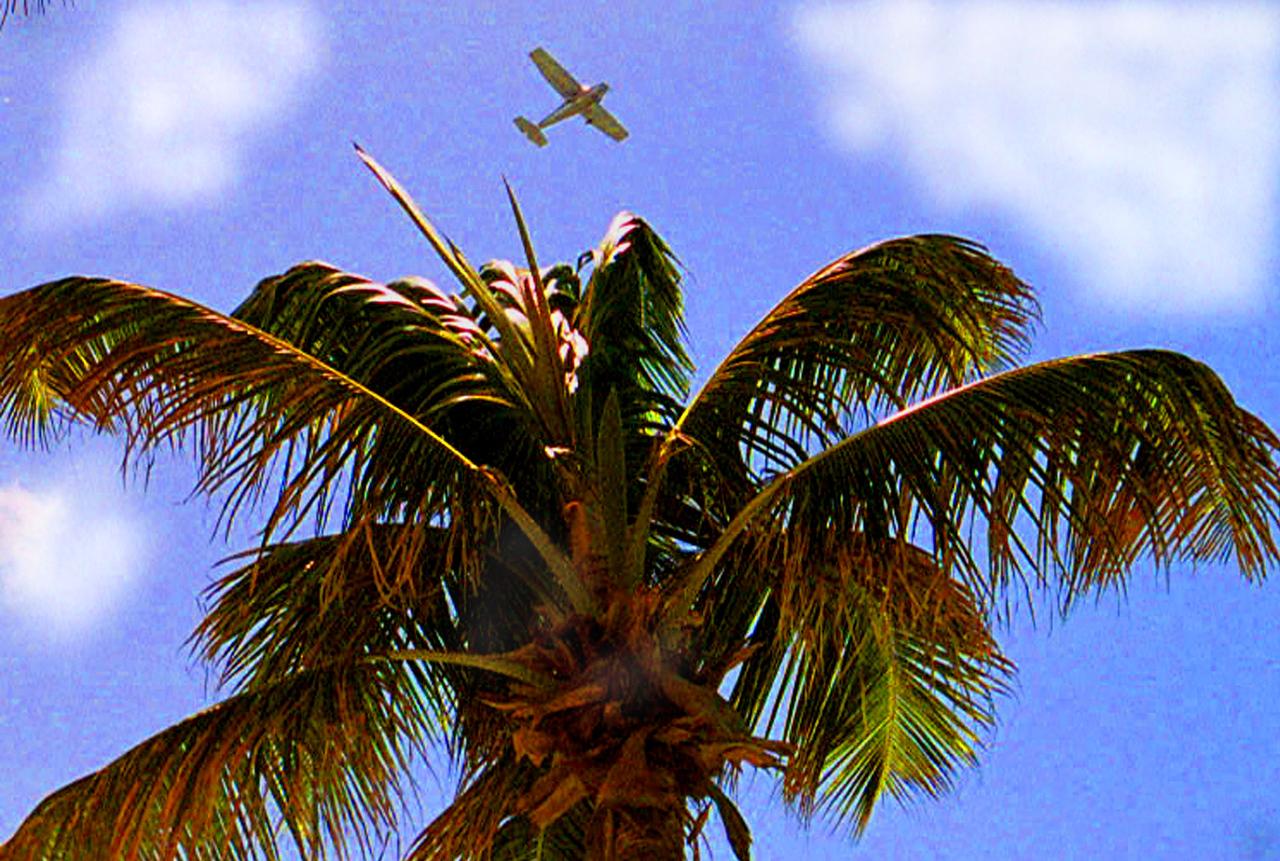 Plane in SanJuan Puerto Rico-