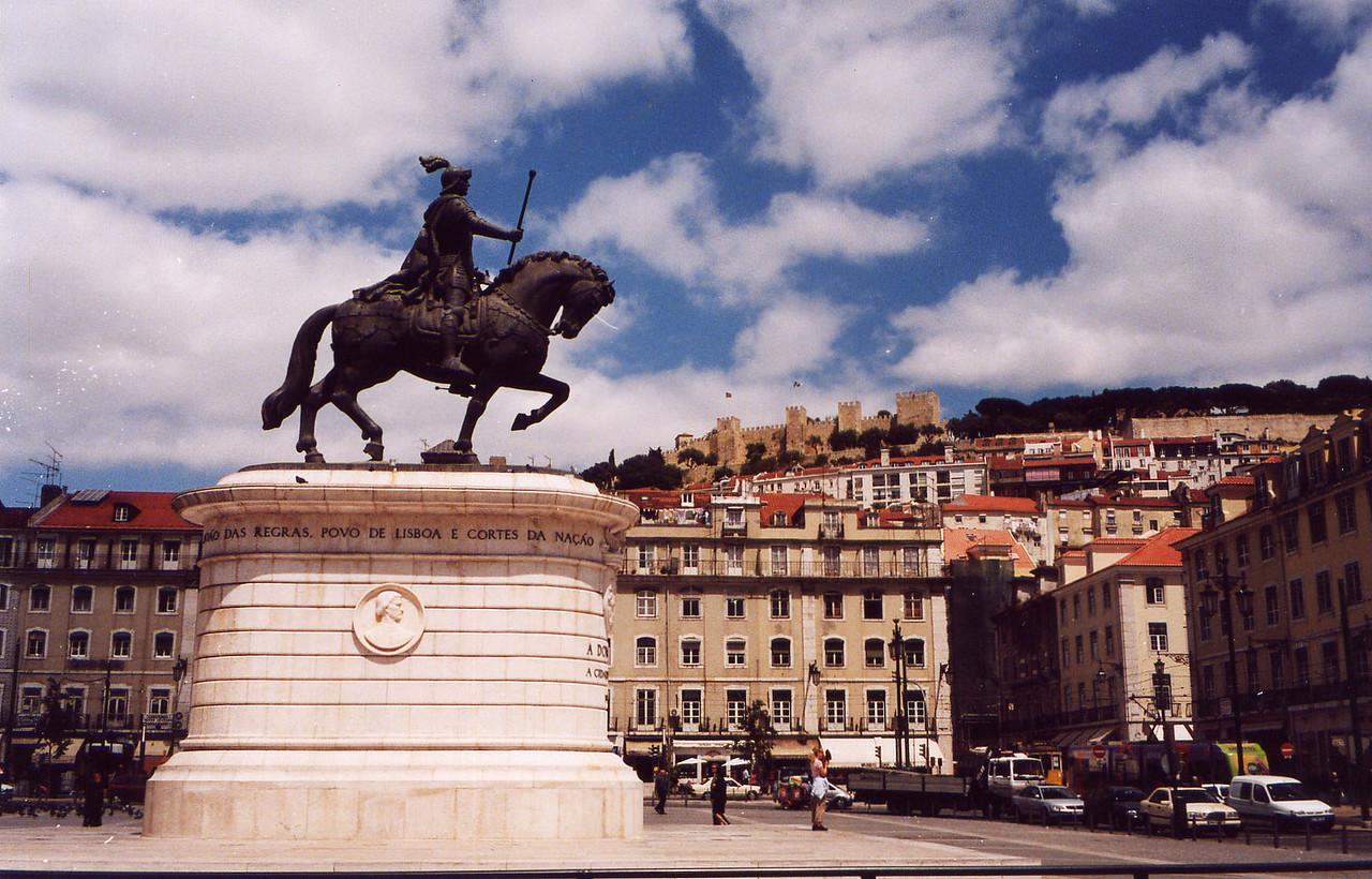 Praca Rosario, Lisbon, Portugal