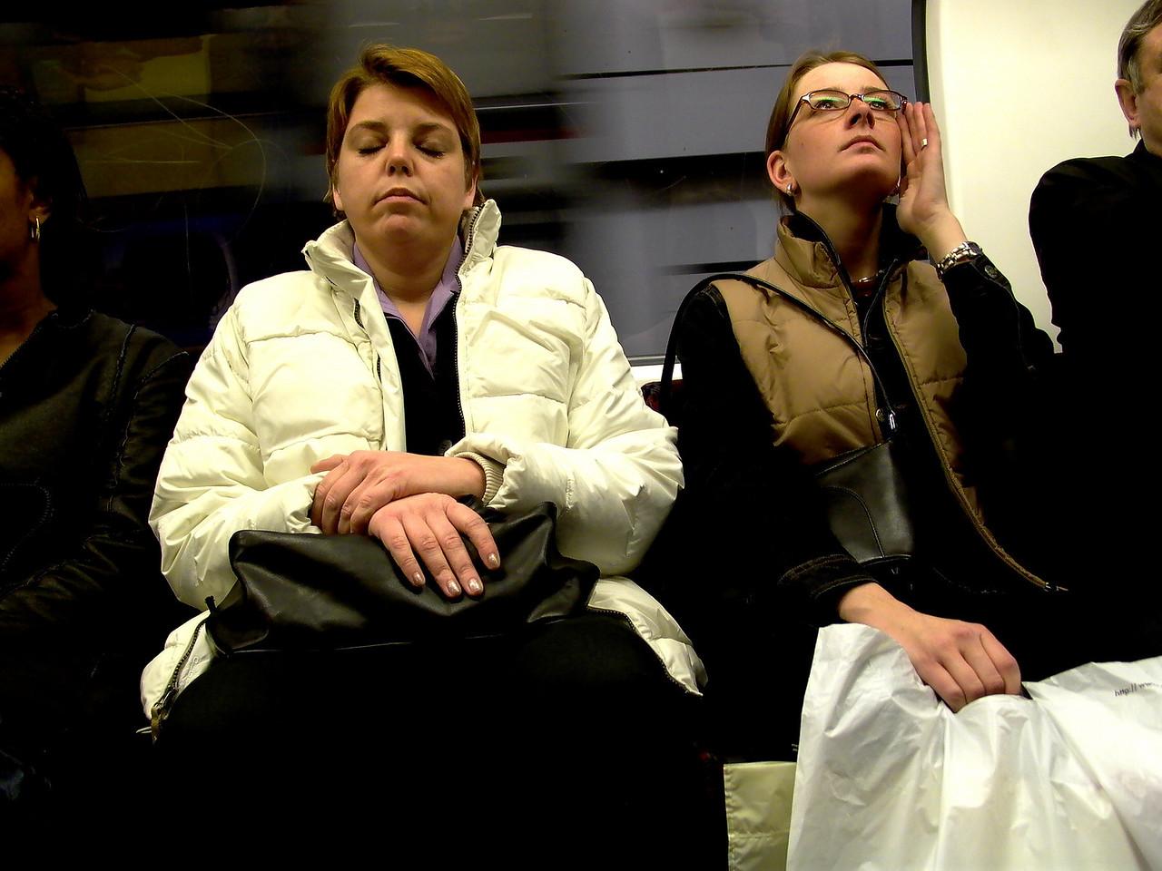 London Underground (Subway) Riders-