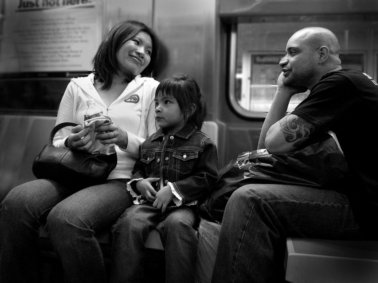 Family Unit- New York City- You can see the love.