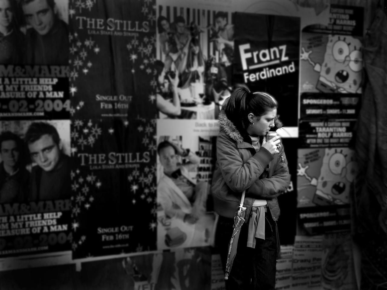 Intropective Moment- London England