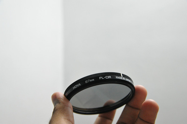 Item #3: Hoya 67mm CPL Filter
