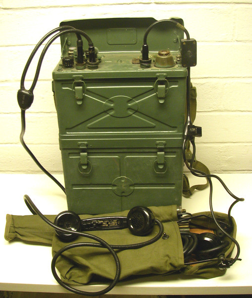 SCR-300A Radio, first restored by Dad, 1987-1988.