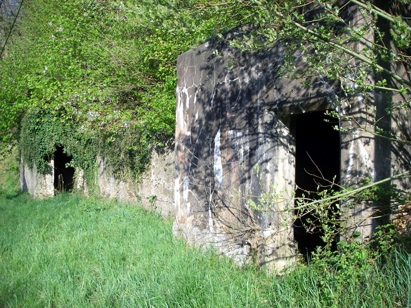 Maginot Line command structure, north of Siersthal, Lorraine (Moselle), France, April 2011.