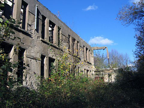 Ruins of French Garrison.
