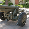 105 mm Howitzer M3, used by Cannon Companies in World War II.