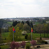 View of Bastogne, from Mardasson Hill, April 2011.