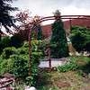 Courtyard area with fountain, Heiligenbronn Farm, looking northwest (photo taken June 1995).