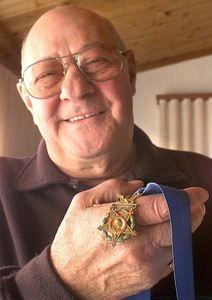 Mike Colallilo, Medal of Honor recipient, 100th Division.