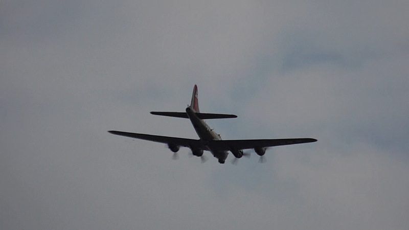 WWII B-17 bomber 8-18-14