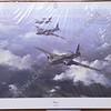 WELLINGTON by Robert Taylor. Original signature (in pencil) of  Flight Lieutenant Bill Townsend CGM DFM.