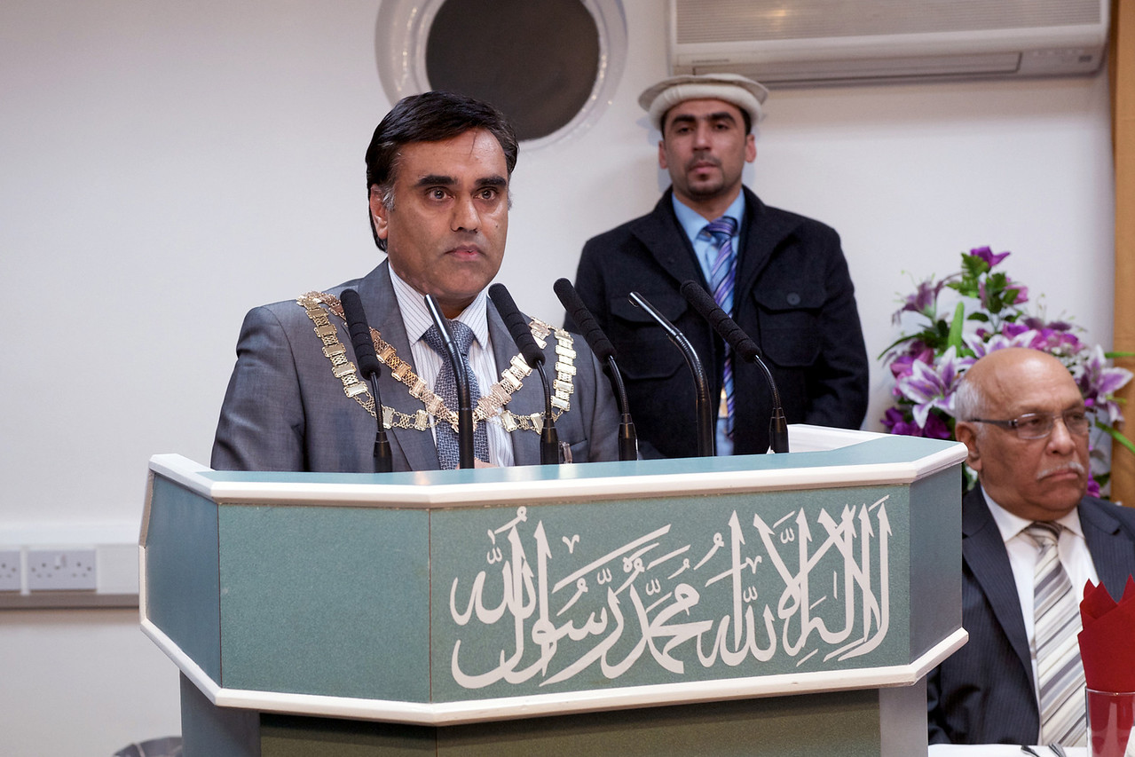 The Mayor of Hounslow, Councillor Amrit Mann