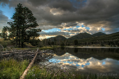 Colorado Morning at Sprague Lake