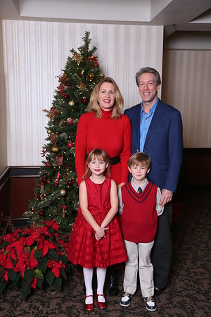 Wakonda Holiday Brunch with Santa  -  2014