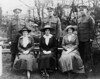 Mary Jones, Holly Hughes- Alice Pilot, James Parry- Catherine Jones, John Parry.  Mary and Catherine Jones with Alice Pilot.  The three girls were raised together in Wales