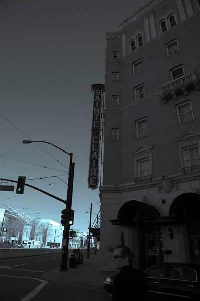 Hotel Claire (cyanotype)