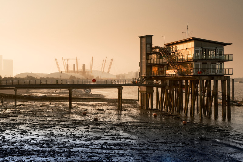 Tides Out on Golden Hour.