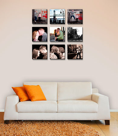 """<B>Wall Design:</B>  9 pieces shown - overall size 32"""" x 32"""" includes:  (9) 10"""" x 10""""     <CENTER> <a href=""""http://www.timesmartimages.com/Other/Resources/products/16107777_QtmkE""""><font size=-1.5><font color=""""#82670B"""">Measurements recommended for Float Wraps,  Canvas Gallary Wraps  and Standouts. </CENTER>"""