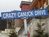 We made our way to Whistler, along with a bunch of crazy Canucks.
