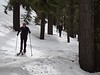 The day after we arrived in Oregon, we went XC skiing.