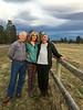 Before heading over the pass, we enjoyed yoga, sunset and dinner with Shelley & Matt.  Matt and I go way back.