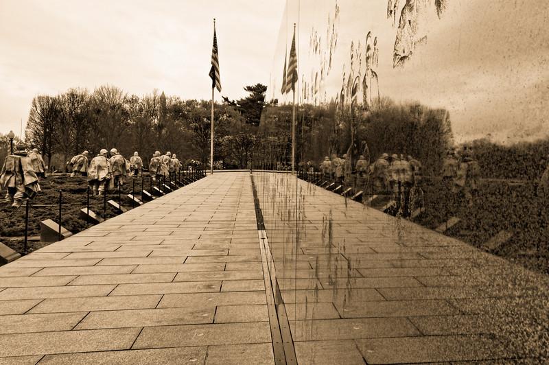 Reflections on War - Korean Memorial