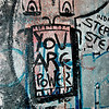 Section of Berlin Wall - Newseum