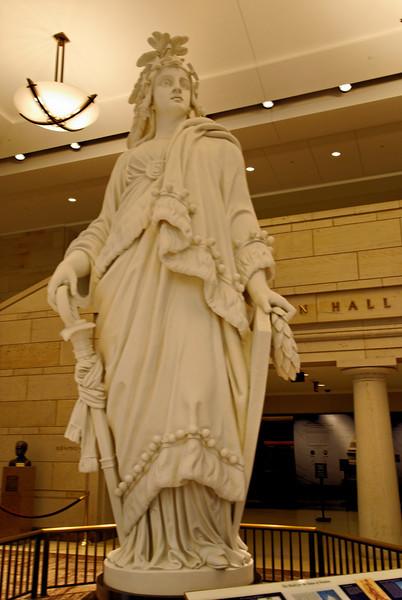 Replica of the Statue of Freedom - Capitol Visitors' Center
