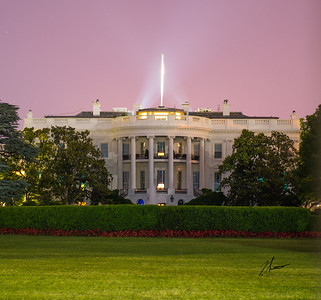 The White House At Midnight