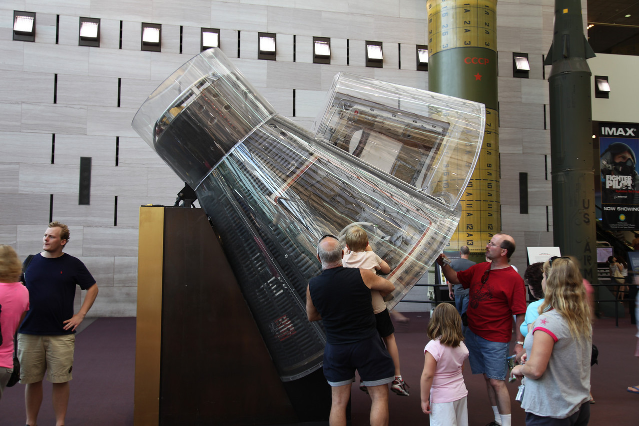Mercury Capsule flown by John Glenn -- National Air & Space Museum Main Facility